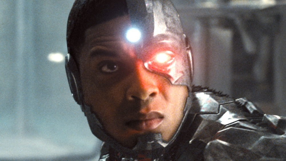 Ray Fisher as Cyborg in Zack Snyder's Justice League