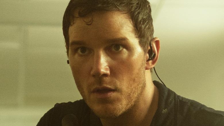 Chris Pratt Dan Forester ear piece