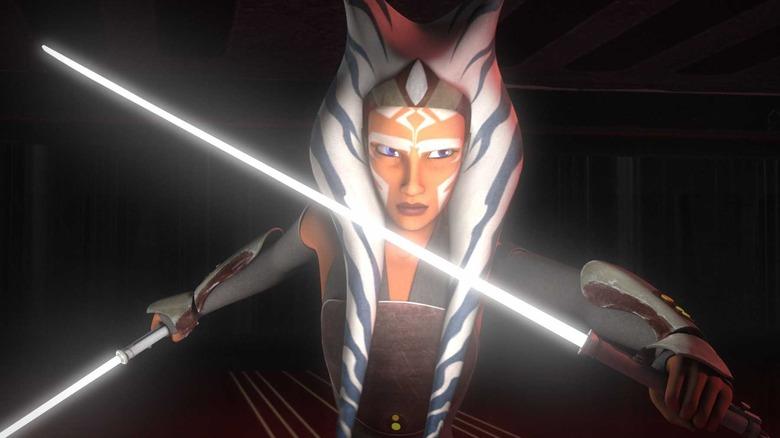 Ashley Eckstein as Ahsoka Tano in Star Wars Rebels