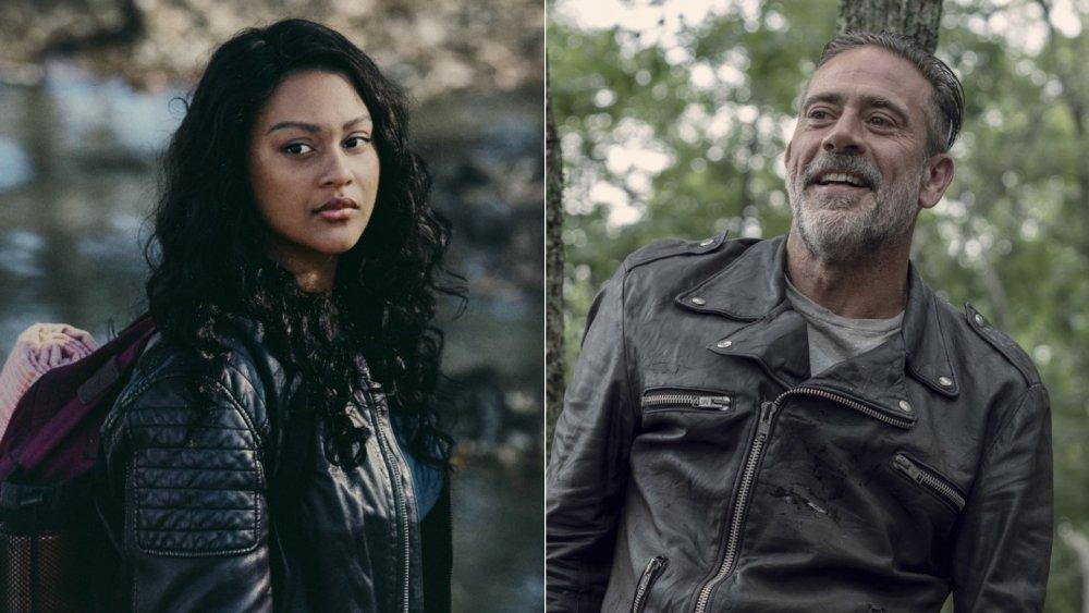 Aliyah Royale on The Walking Dead: World Beyond, Jeffrey Dean Morgan on The Walking Dead