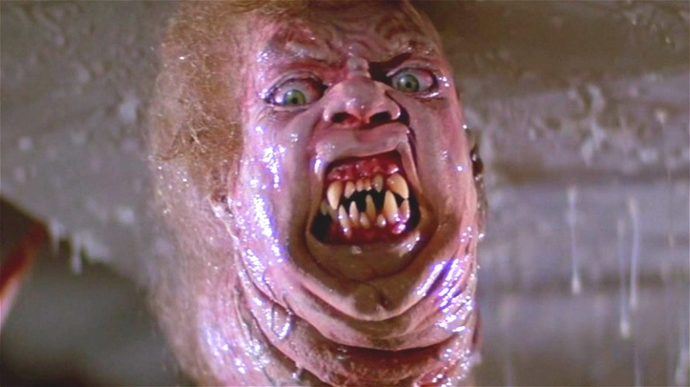 The Thing's disgusting SFX mask