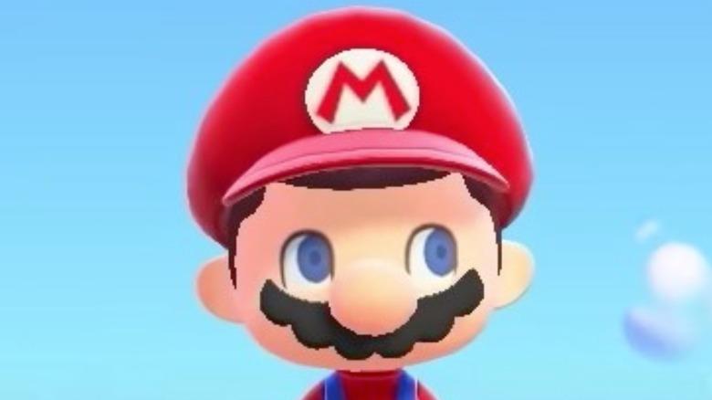 Villager in Mario costume