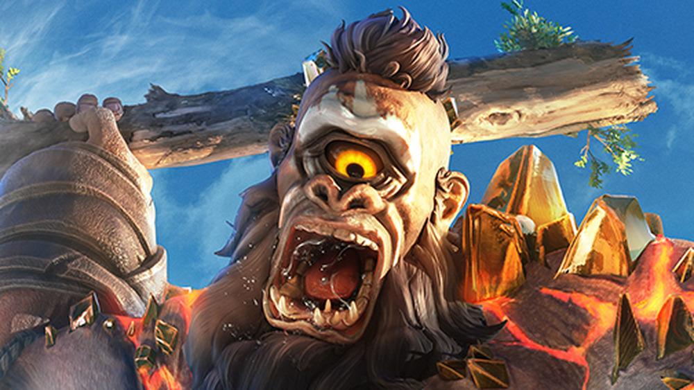 Immortals Fenyx Rising cyclops