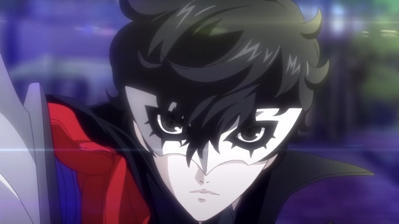 Joker with sword