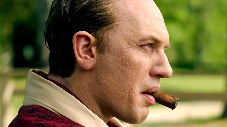 Tom Hardy as Capone in Capone