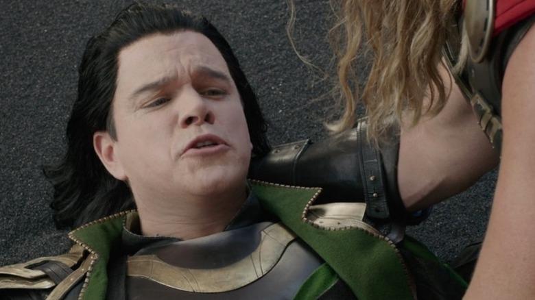 Matt Damon Loki dying