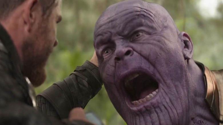 Thanos screaming