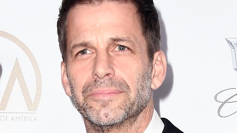 Zack Snyder close-up