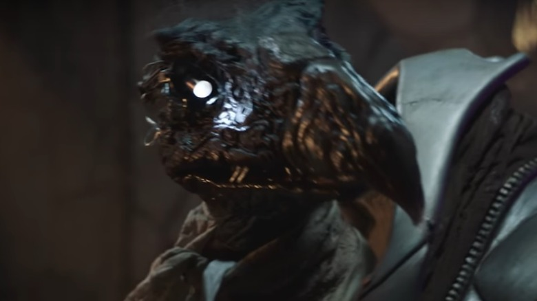 Still from Dark Crystal: Age of Resistance trailer