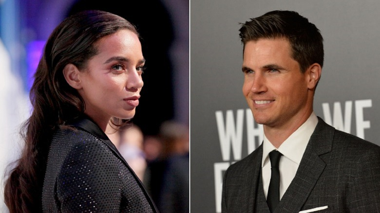 Hannah John-Kamen and Robbie Amell from the new Resident Evil movie