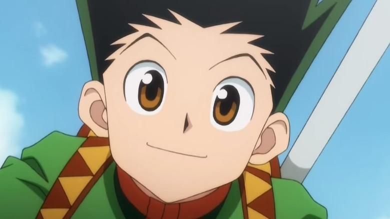 Hunter x Hunter Gon Freecss Smile