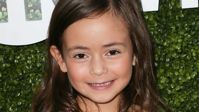 Hala Finley child actress smiling