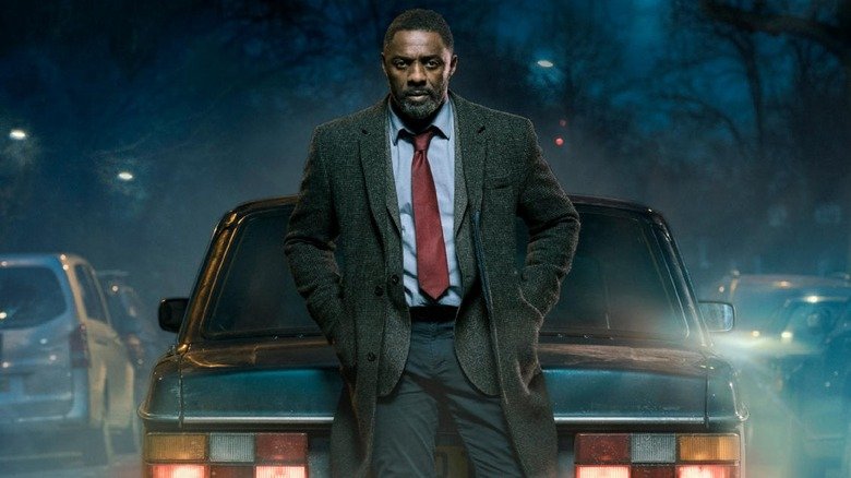 Idris Elba as DCI John Luther on Luther