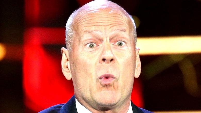 Bruce Willis shocked