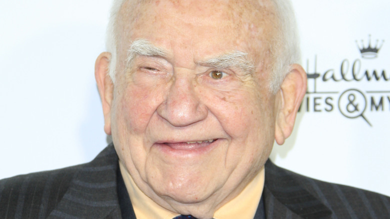 Ed Asner at the TCA Winter 2015 event for Hallmark Channel