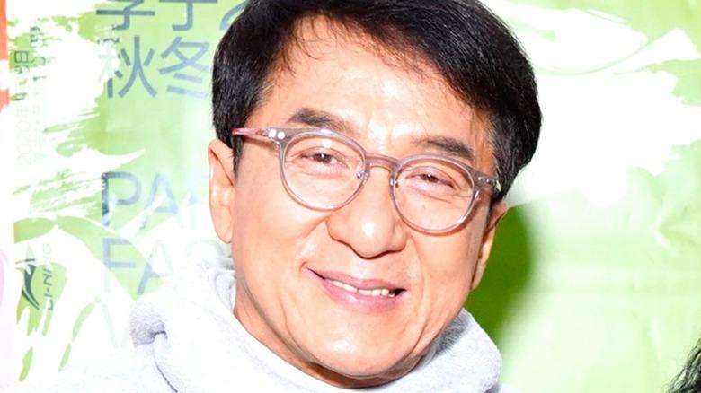 Jackie Chan posing