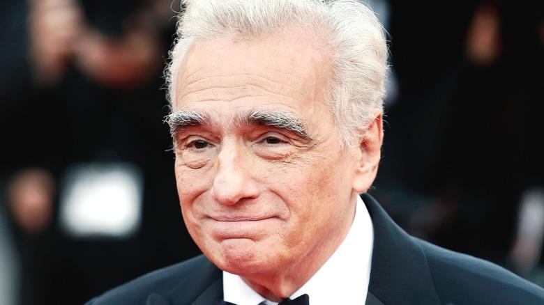 Martin Scorsese smiling red carpet