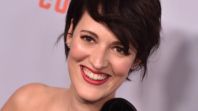Phoebe Waller-Bridge smiling