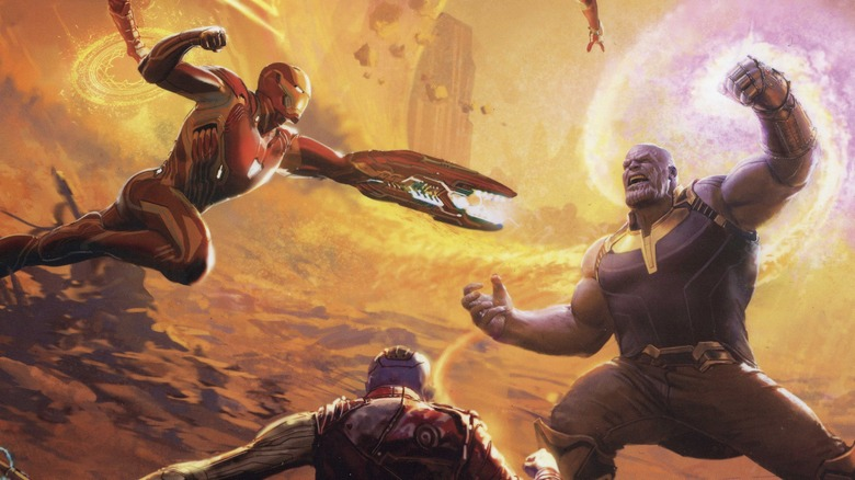 Marvel's Avengers: Infinity War - The Art of the Movie book cover