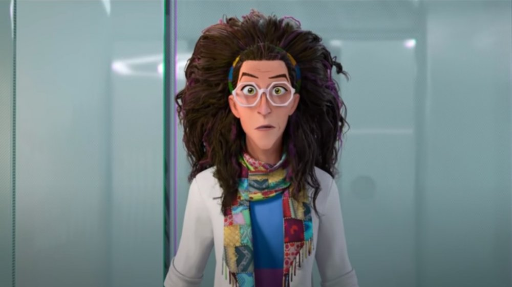 Kathryn Hahn as Dr. Olivia Octavius in Spider-Man: Into the Spider-Verse