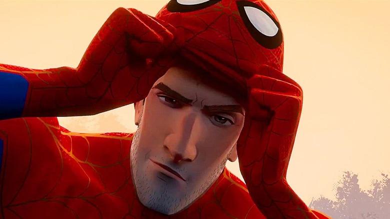 Animated Spider-Man unmasks