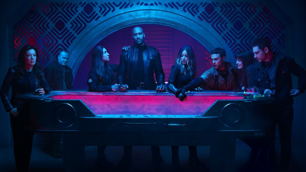 the cast of Agents of S.H.I.E.L.D.