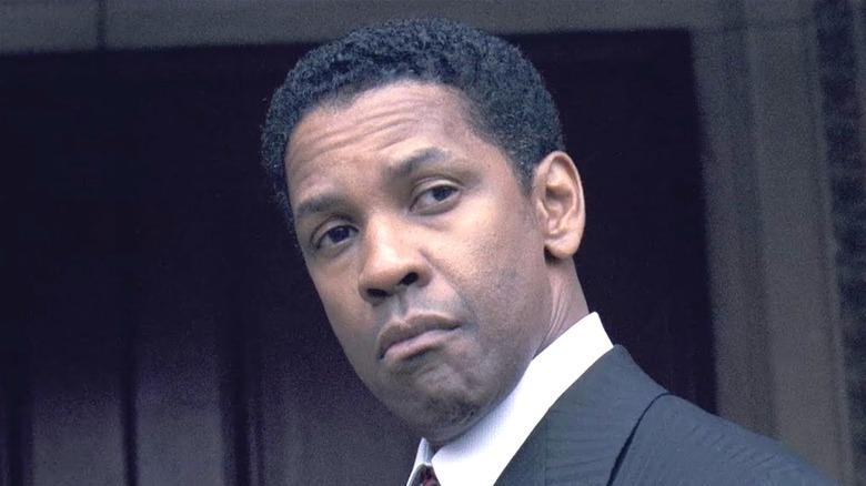 Denzel Washington as Frank Lucas in American Gangster