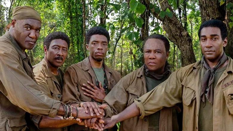 The cast of Da 5 Bloods