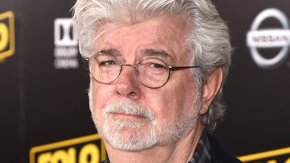 George Lucas smiling