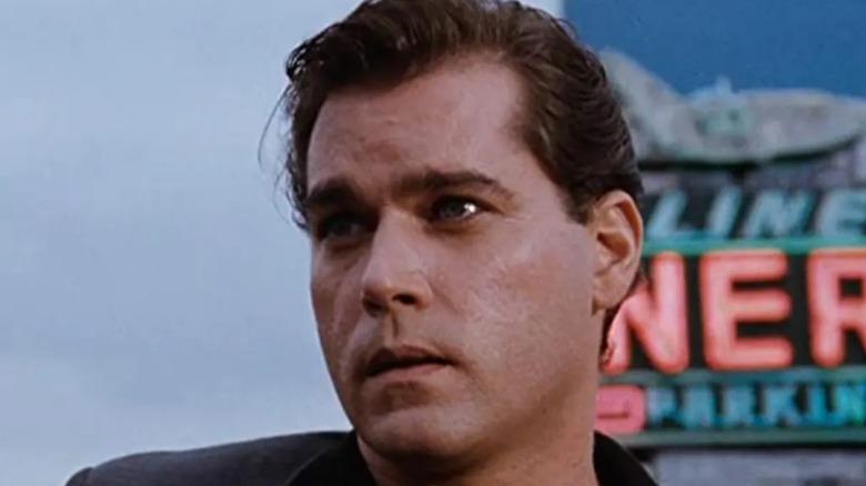 Ray Liotta as Henry Hill looking on