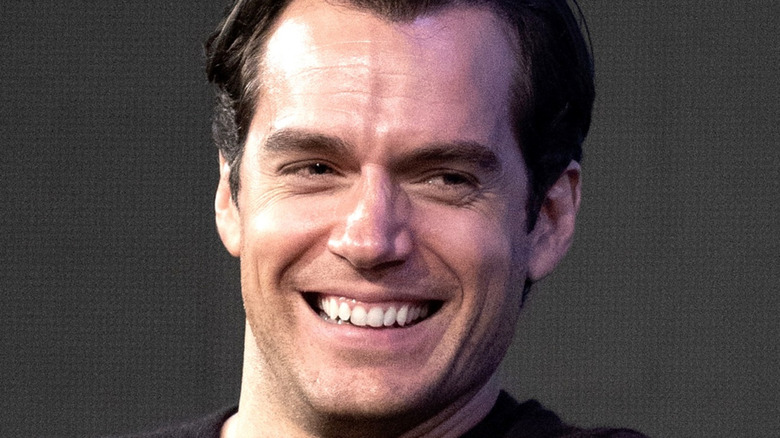 Henry Cavill Laughing