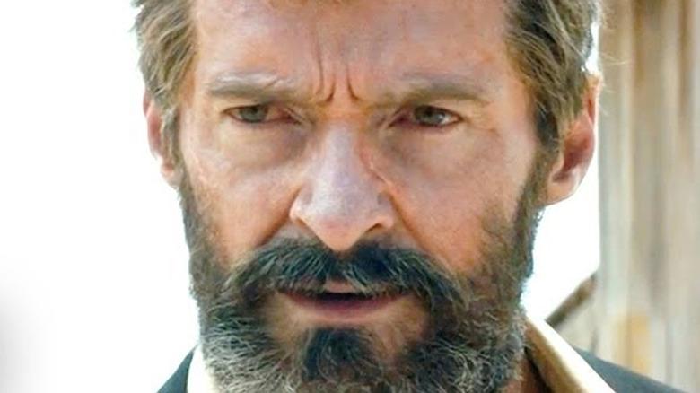 Logan with a beard