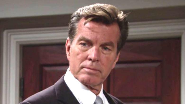 Jack Abbott suit coiffed hair