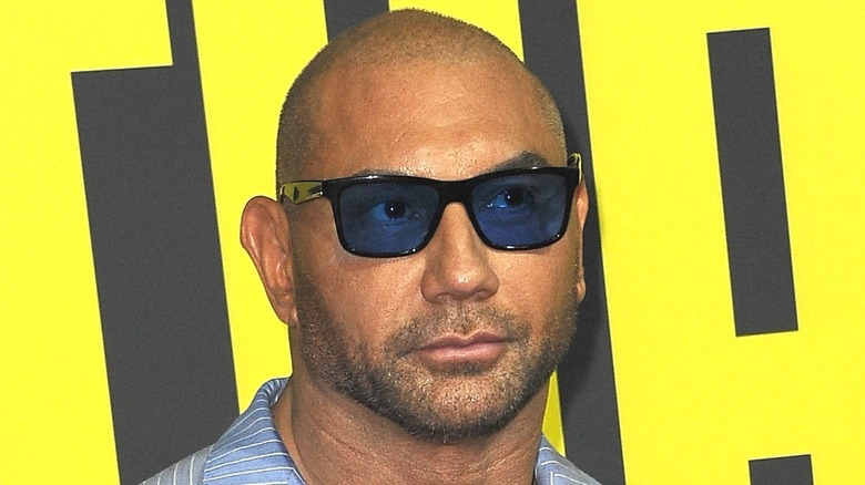 Dave Bautista in sunglasses