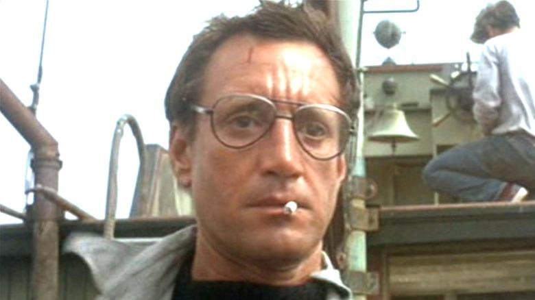 """Roy Schneider smokes in """"Jaws"""""""