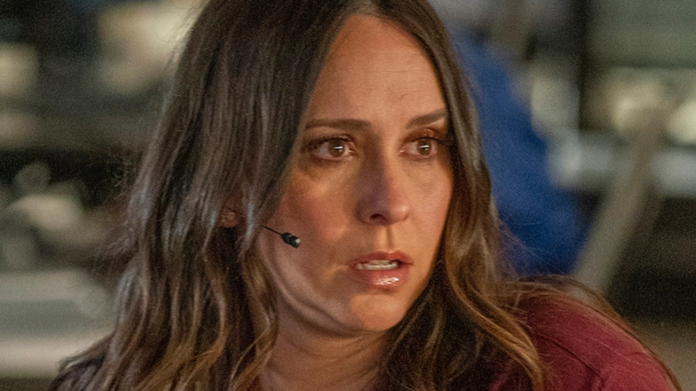 '9-1-1' Maddie in a headset