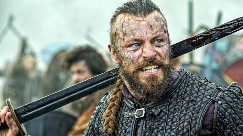 Peter Franzén as King Harald in Vikings