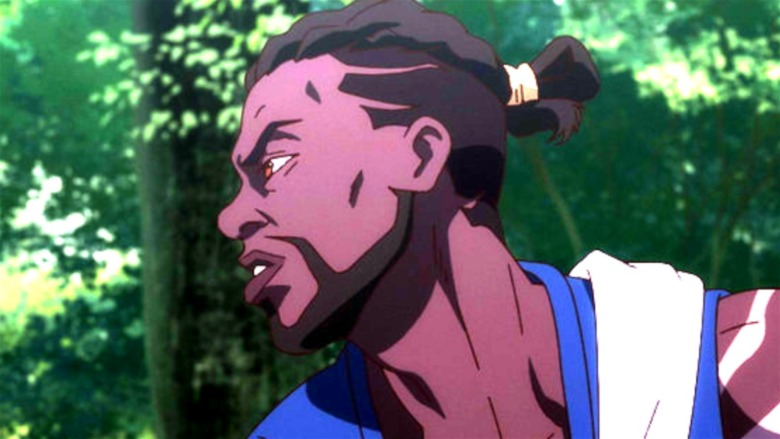 Yasuke samurai