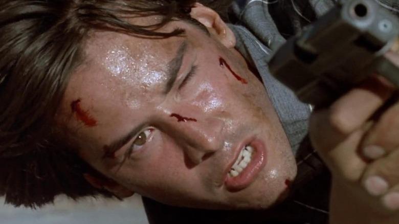 """""""Point Break"""" starring Keanu Reeves."""