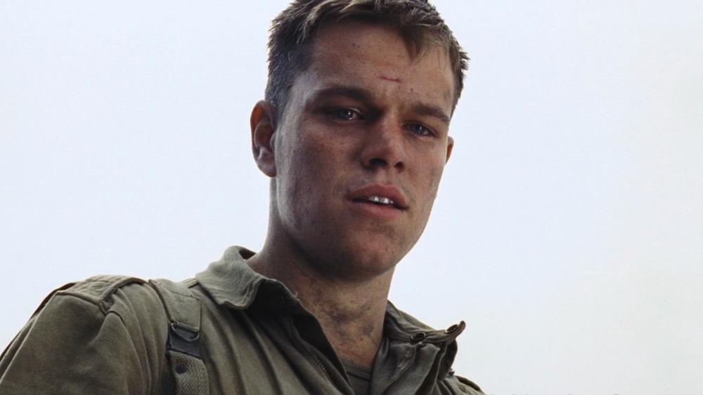 Matt Damon Saving Private Ryan
