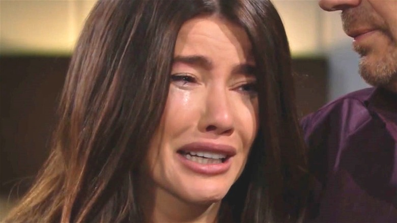 Steffy Forrester Crying