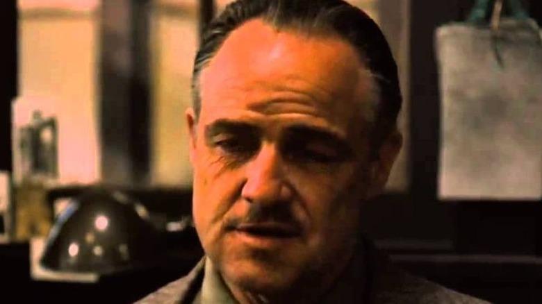 Don Vito Corleone talking