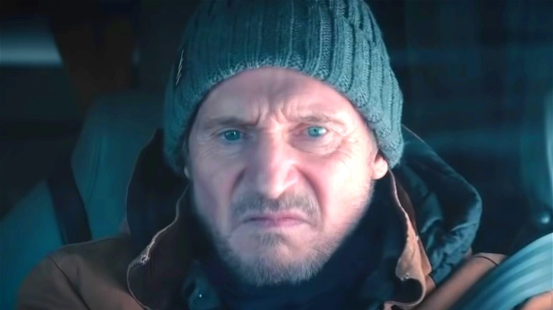 Liam Neeson as Mike in The Ice Road