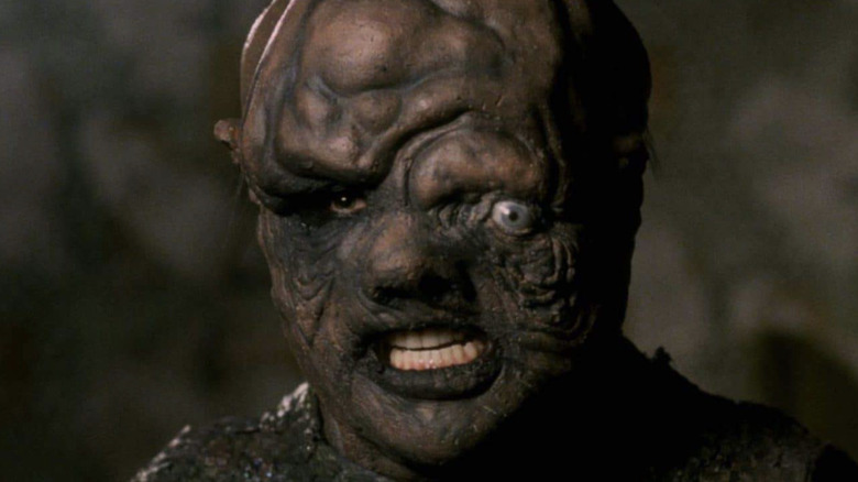 Toxic Avenger angry