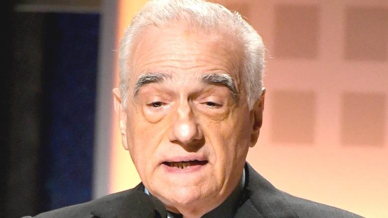 Marty Scorsese speaking
