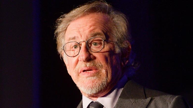 Steven Spielberg speaking