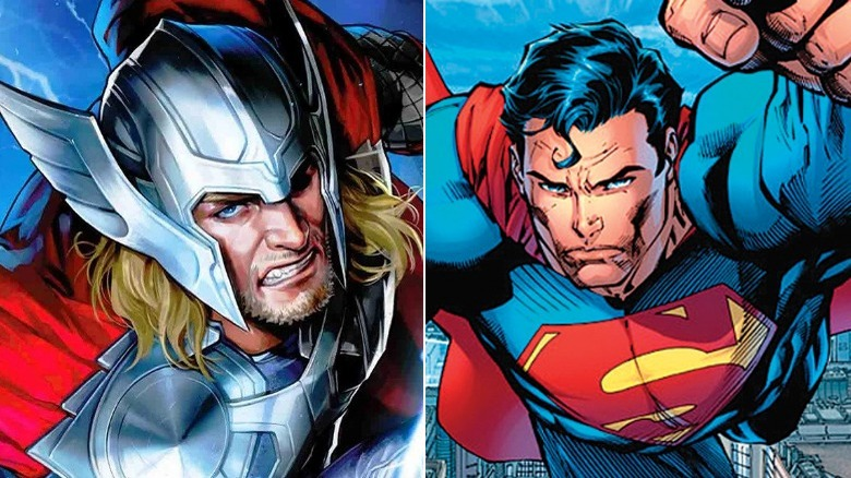 Thor and Superman