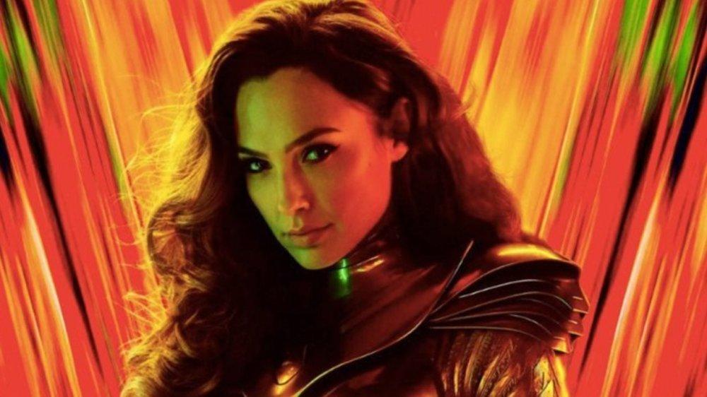 Gal Godot in as Wonder Woman in Wonder Woman 1984