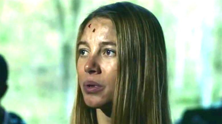 Charlotte Vega as Jen Shaw in Wrong Turn 2021