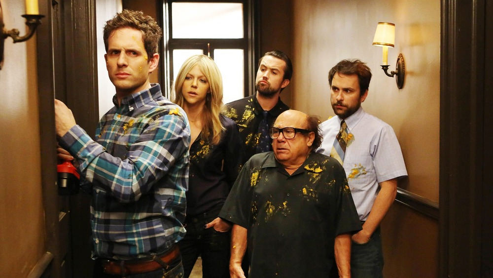 The gang's all here on It's Always Sunny in Philadelphia